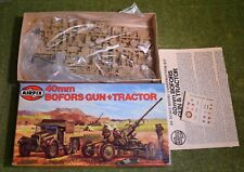 AIRFIX MODEL KIT OO SCALE 40mm BOFORS GUN & TRACTOR 02314-2 NEW STYLE BOX