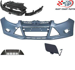 For 2012-2014 Ford Focus FRONT bumper grills with bumper bracket
