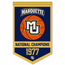 Marquette Golden Eagles Basketball National Champions Banner Flag