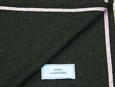 KITON 100% PURE CASHMERE FABRIC - MADE IN SCOTLAND, 1.85METRES