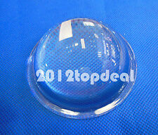 20 100w Led Convex Lens Optical Glass Condenser Lens Reflector Collimator 78mm
