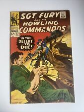 SGT Fury and His Howling Commandos #37 Vintage 1966 Marvel Comic Book