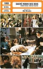 FICHE CINEMA : SACRE ROBIN DES BOIS - Elwes,Brooks 1993 Robin Hood:Men In Tights