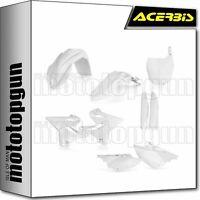 ACERBIS 0023083 FULL PLASTICS KIT WHITE YAMAHA WR 125 2T 2018 18