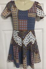 Ladies H&M Divided short stretchy mini pretty dress Summer NEW  Size 8