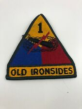 """US ARMY 1st Armored Division """"OLD IRONSIDES""""  4 inch patch Mint New Condition"""