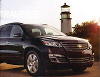 2013 Chevrolet Traverse 30-page Original Sales Brochure Catalog
