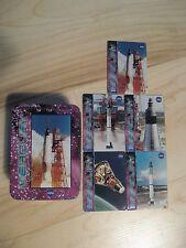 NASA Mercury Rocket Space Rocket 1996 Metallic Productions USA Collect Cards Tin