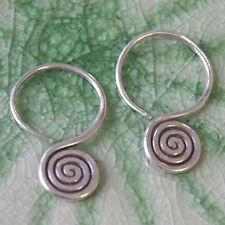Karen Hill tribe Silver Cool Handmade jewelry Earrings Thai