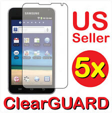"5x Samsung Galaxy S Player 5 5.0"" Wifi LCD Screen Protector Guard Shield Cover"