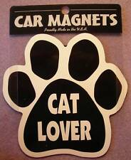 "CAR MAGNET ""CAT LOVER PAWPRINT""  FOR CAT LOVERS"