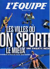 L'EQUIPE MAGAZINE N° 944 2000 voile formule 1 cyclisme