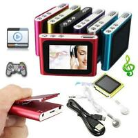 "2-16GB Digital MP3 MP4 Music Player LCD 1.8""Screen Media Video Radio FM 6th UP"
