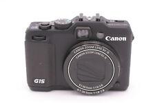 Canon PowerShot G15 12.1 MP Digital Camera - Black