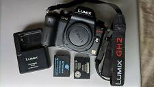Panasonic LUMIX DMC-GH2 16.0MP Digital Camera - Black (Body Only) Mint Condition