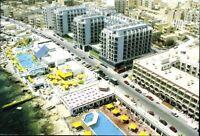 Postkarte Ansichtskarte Ak PK farbig ungelaufen Qawra Coast Strand Malta