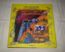 H. R. Giger - The Mystery of San Gottardo - Eine Komödie - 1998 Filmscript Comic