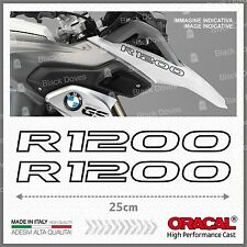 2x R1200 Black BMW R1200GS 13-17 LC ADESIVI PEGATINA STICKERS AUTOCOLLANT