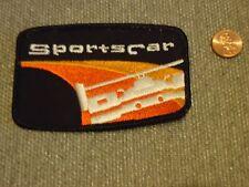 Sportscar Club of America Racing Patch