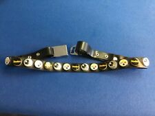 Sports memorabilia:  Men's belt, Pittsburgh Steelers, 40 inches, black