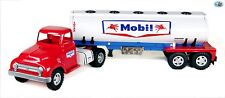 Awesome Restored Vintage 1950s Tonka 'Mobil Gas' Pressed Steel Tanker Truck