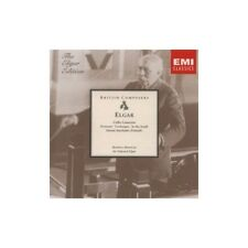 Elgar: Cello Concerto, Concert Overtures, Cockaigne, In The South -  CD B9VG The