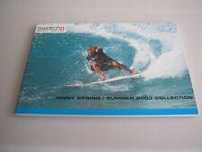 "ORIGINALE SWATCH IRONY catalogo"" 2003 Spring Summer"""