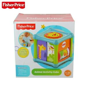 Fisher Price 5 Sides Of Play Sensory Baby Infant Play Cube