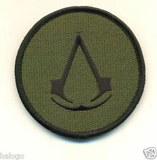 OD GREEN ASSASSINS CREED VEL-KRO PATCH - GAME97V