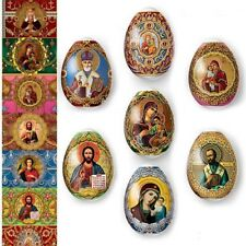 Thermo Heat Shrink Sleeve Decoration Easter Egg Wraps Pysanka Pisanki Faberge