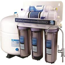 5 Stage Reverse Osmosis Drinking Water System  BLUONICS 50 GPD RO Home Purifier.
