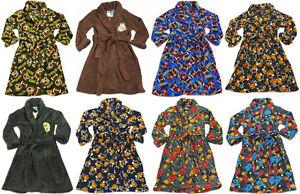 Toddler Boys MacHenry Originals Soft Warm and Cozy Fleece Bathrobe Robe