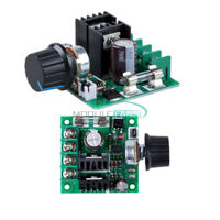 DC 12V-40V 10A PWM DC Motor Speed Controller Dimmer with Knob Regulator