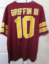 NFL Washington Redskins  10 Robert Griffin III RG 3 Shirt Large Revesible 81b94c343