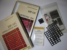 Boxed Vintage HP Surveying Pac with Two Overlays, Quick Ref Guide & Manual