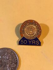 Auburn University Golden Eagles 50  Years Service Award Pin Jewelry SCIENCE ARTS