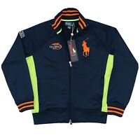 Polo By Ralph Lauren Jacket Mens Small 2011 US Open Tennis Big Pony Zip Up NWT