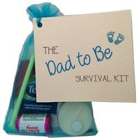 Dad to be survival kit. Expecting fathers gift