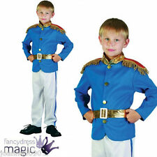 Boys Prince Charming Royal Fairytale Fancy Dress Book Day Week Costume Outfit Small Age 4 5 6