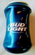 Bud Light Longneck 12oz Bottle Holder Koozie Cooler Coozie Beer Soda BLUE Rubber