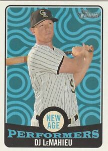 2017 TOPPS HERITAGE NEW AGE PERFORMERS ****YOUR CHOICE****