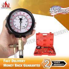 PAL 3.5'' 0-140 PSI Gasoline Fuel Injection Pump Pressure Gauge Test Car Tool
