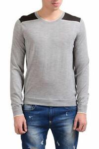 Malo Men's Light 100% Cashmere Crewneck Sweater Size L XL