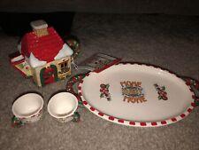 Nib #746894 Mary Engelbreit Home Sweet Home Mini Tea Set