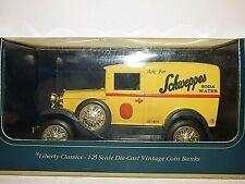 Liberty Classics Ford Model A Van Schweppes soda Water Money box