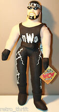 "Hollywood Hulk Hogan 13"" Plush Action Figure PVC Head New with Tag NWO WCW"