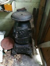 Us Army Canon Heater Original WW2 U.S Army Pot Belly Cannon Heater Wood Burning