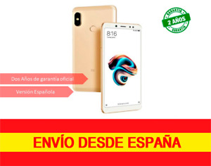 "XIAOMI REDMI NOTE 5 5,99"" 3GB/64GB 13/12MP DS Dorado"