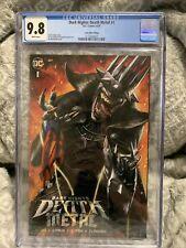 Dark Nights Death Metal #1 CGC 9.8 Comic Mint Edition Ian McDonald Cover Variant