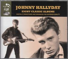 JOHNNY HALLYDAY – Eight Classic Albums (4CD Real Gone Music, UK - 2014)